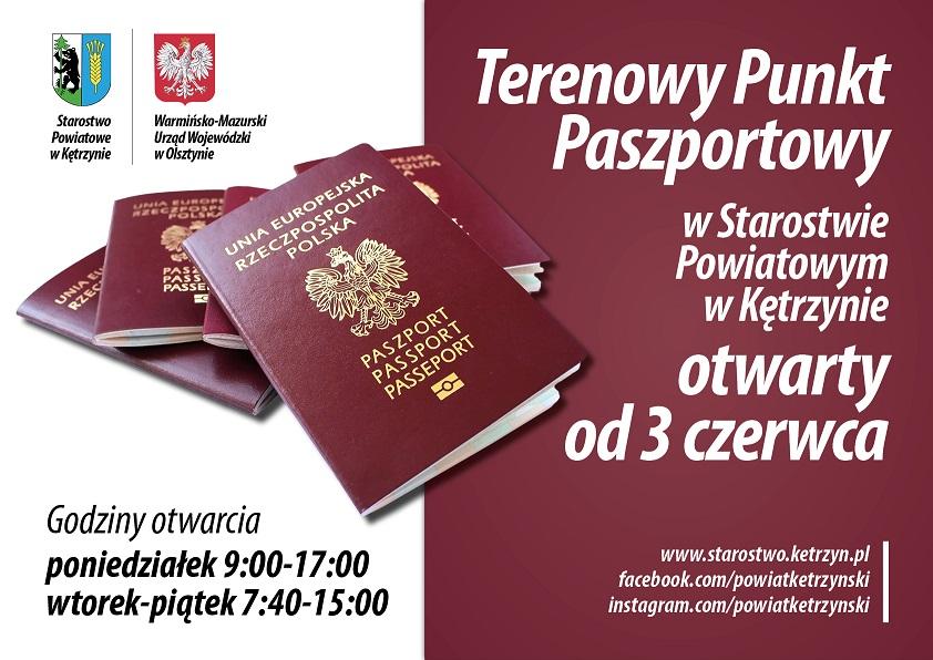 Ilustracja do informacji: Terenowy Punkt Paszportowy