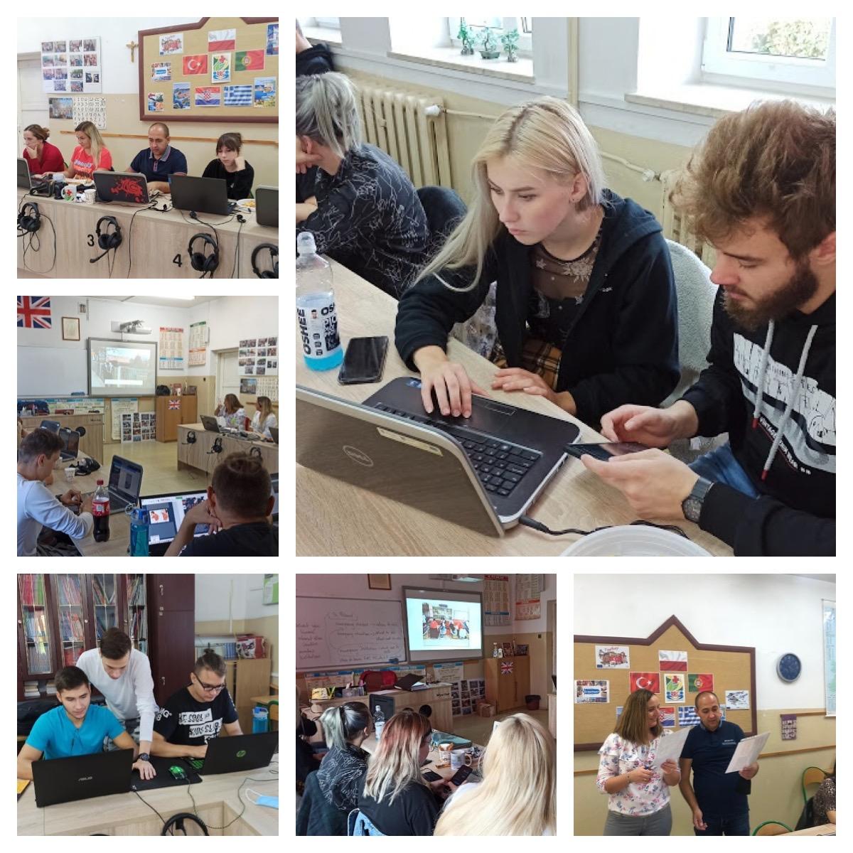 """Ilustracja do informacji: Wirtualny finał międzynarodowego projektu Erasmus plus """"Raising Responsible Citizen"""" w ZS Reszel"""