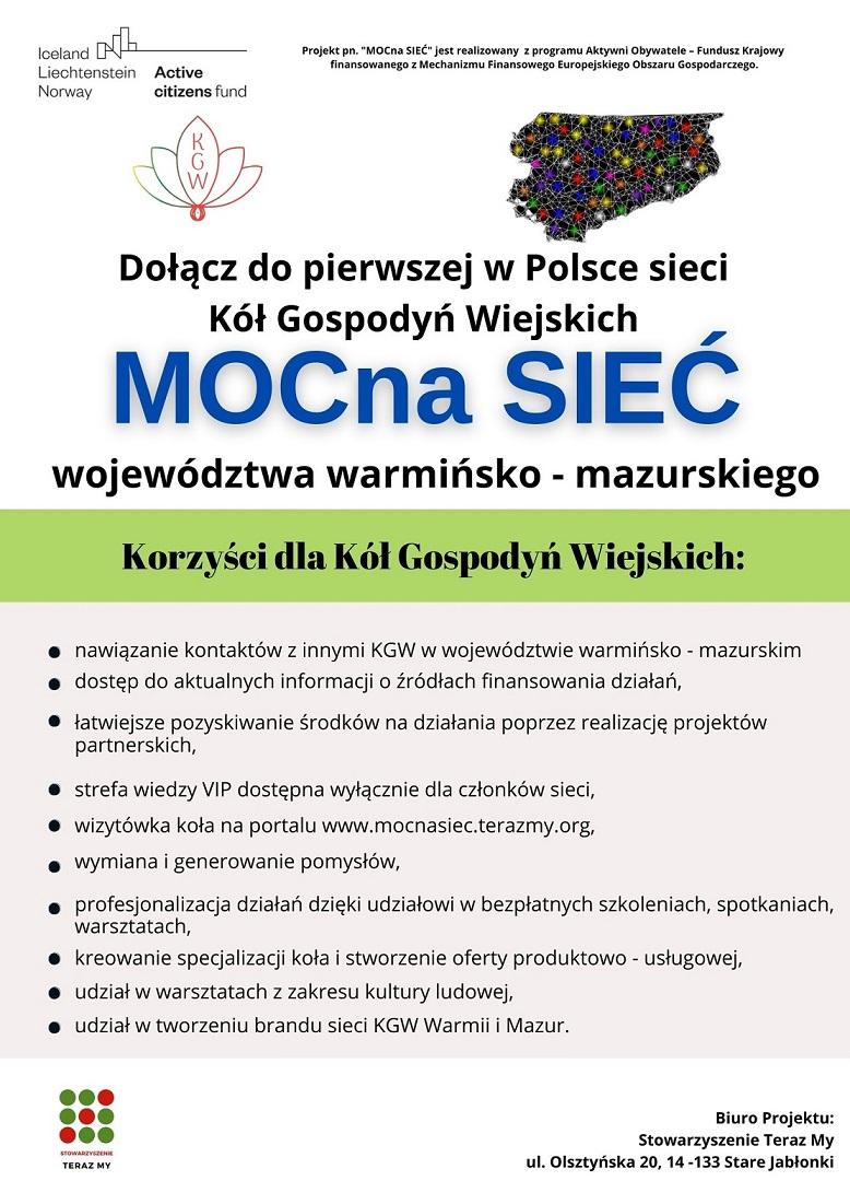 Ilustracja do informacji: Rekrutacja Kół Gospodyń Wiejskich z województwa warmińsko-mazurskiego do SIECI KGW